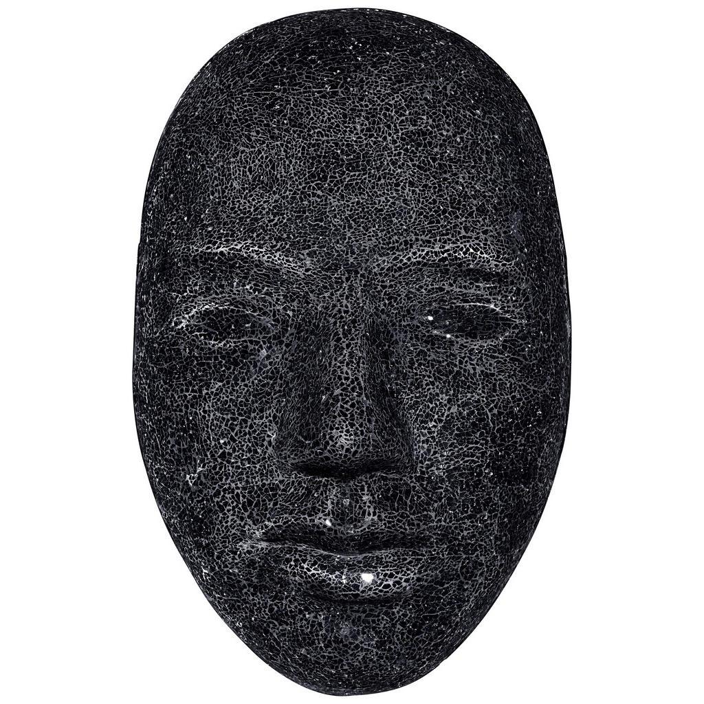 Image of Ambia Home Dekomaske , Dt-243/s/black , Schwarz , Kunststoff, Glas , 40x66x19 cm , zum Stellen , 0089430035