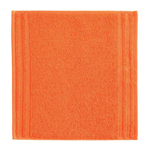 SEIFTUCH  Orange - Orange, Basics, Textil (30/30cm) - Vossen
