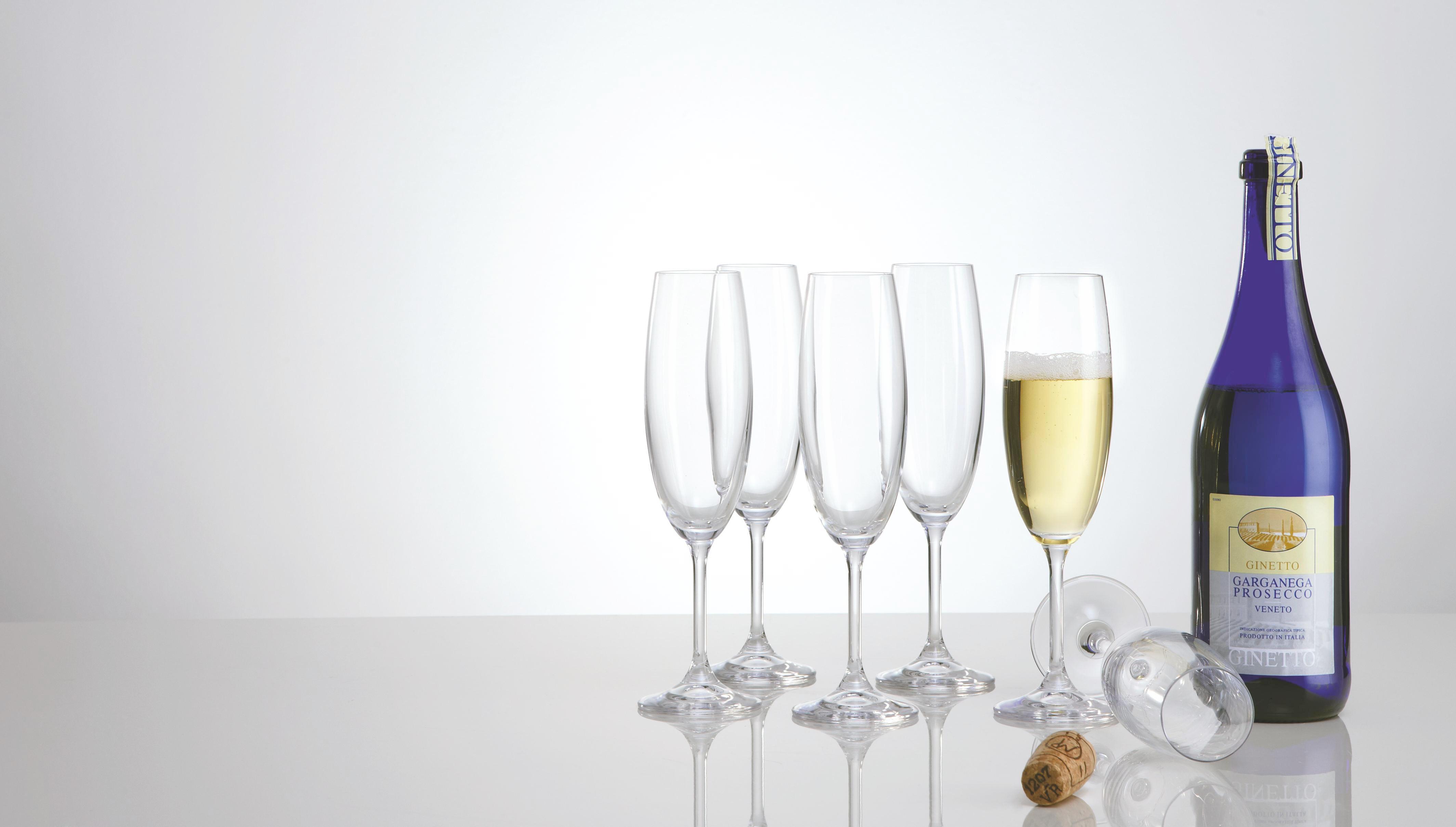 KOZAREC ZA PENINO - prozorna, Konvencionalno, steklo (0.22l) - HOMEWARE