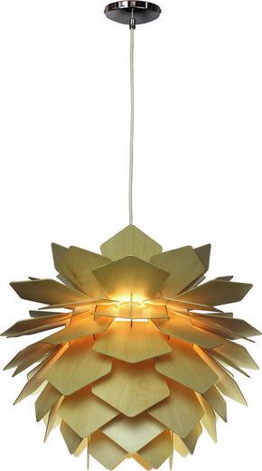 TAKLAMPA - naturfärgad, Lifestyle, trä (55/44cm) - Marama