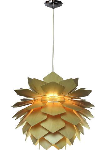 SVÍTIDLO ZÁVĚSNÉ - přírodní barvy, Lifestyle, dřevo (55/44cm) - Marama