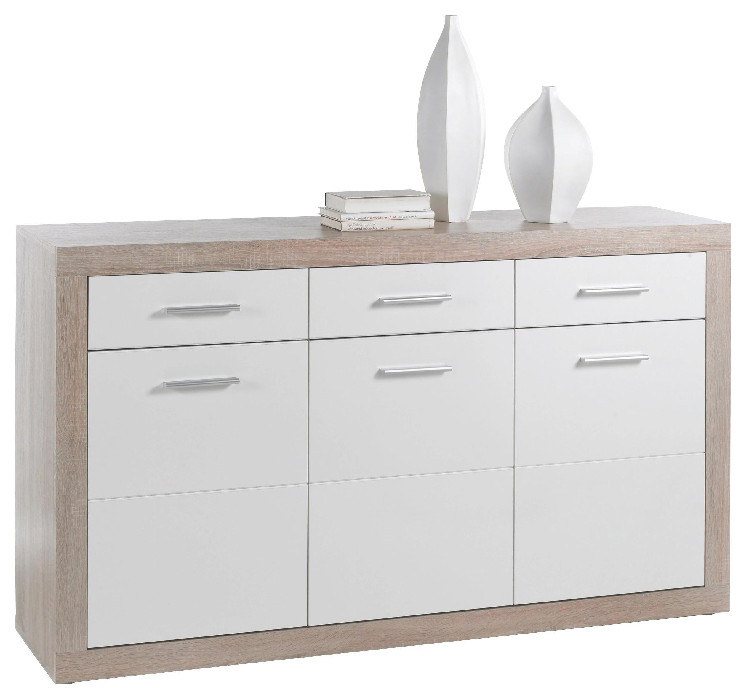 Faszinierend Sideboard Beleuchtet Das Beste Von Beautiful Elegant Finest Sonoma Eiche Wei Design