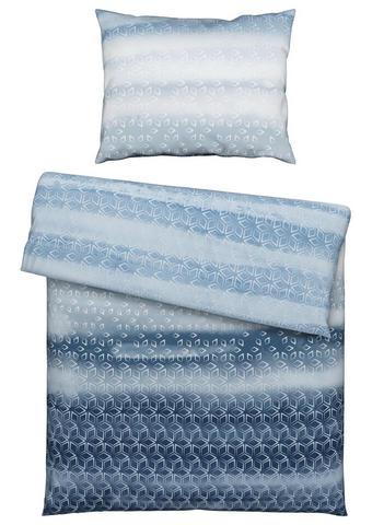 Bettwäsche 160/210 cm  - Blau, Konventionell, Textil (160/210cm) - Esposa