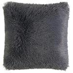 ZIERKISSEN 45/45 cm  - Anthrazit, KONVENTIONELL, Textil (45/45cm) - Novel