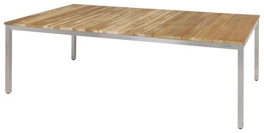 GARTENTISCH Holz, Metall Naturfarben - Naturfarben, Design, Holz/Metall (220/100/75cm) - ZEBRA SÜD