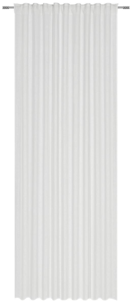 FERTIGVORHANG halbtransparent - Weiß, Design, Textil (140/280/cm) - Esposa