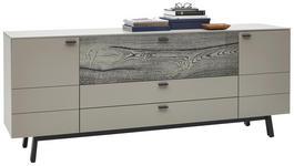 SIDEBOARD 227,5/91,2/49,2 cm  - Fango/Eichefarben, Design, Holz/Holzwerkstoff (227,5/91,2/49,2cm) - Dieter Knoll