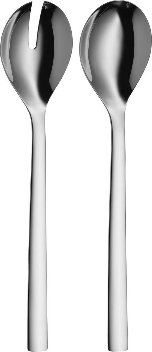 SALATBESTECK - Edelstahlfarben, Basics, Metall (30cm) - WMF