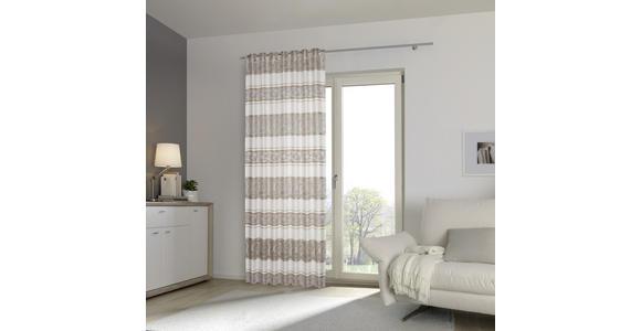 FERTIGVORHANG blickdicht  - Beige, KONVENTIONELL, Textil (140/245cm) - Esposa