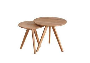 AVLASTNINGSBORD - ekfärgad, Design, trä (50/48cm) - Rowico