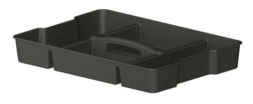BOX 51,6/36,5/7,3 cm - Anthrazit, KONVENTIONELL, Kunststoff (51,6/36,5/7,3cm) - Rotho