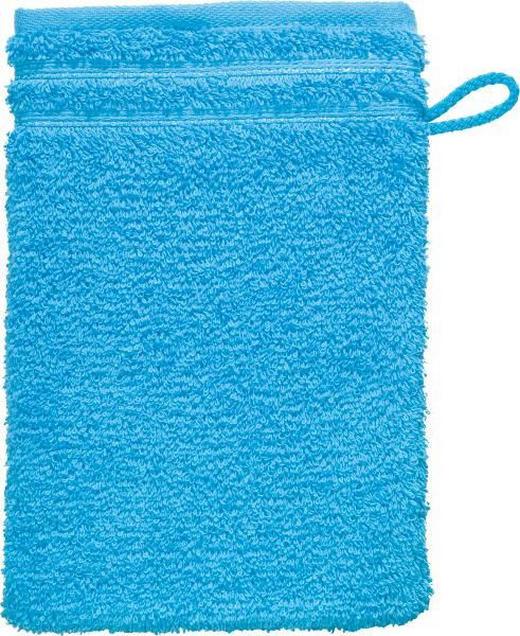WASCHHANDSCHUH - Türkis, Basics, Textil (22/16cm) - VOSSEN