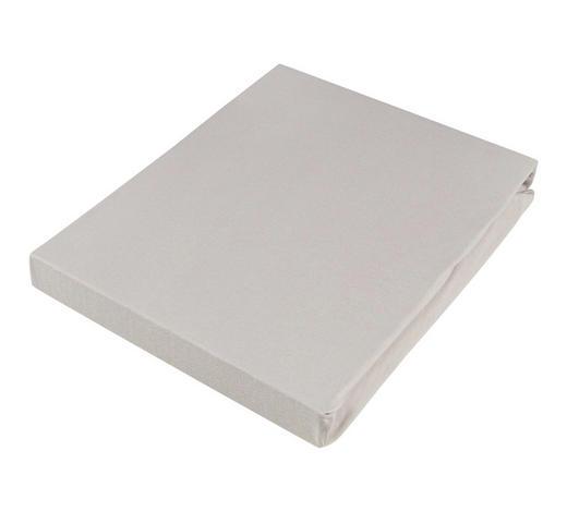 SPANNLEINTUCH 180/200 cm - Hellgrau, Basics, Textil (180/200cm) - Novel