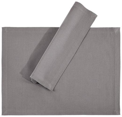 TISCHSET 33/45/ cm Textil - Hellgrau, Basics, Textil (33/45/cm) - Novel