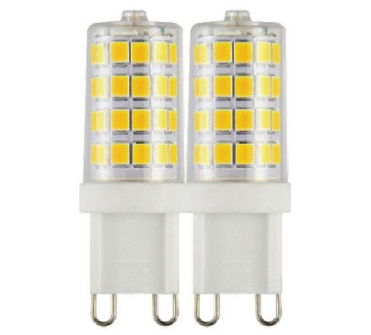 LED-Leuchtmittel G9 - Weiß, Basics, Kunststoff/Metall (1,7/5,4cm) - Boxxx