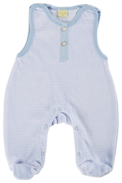 STRAMPLER - Weiß/Hellblau, Basics, Textil (56null) - Patinio