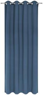 ÖSENVORHANG black-out (lichtundurchlässig) - Blau, Basics, Textil (140/245cm) - Esposa