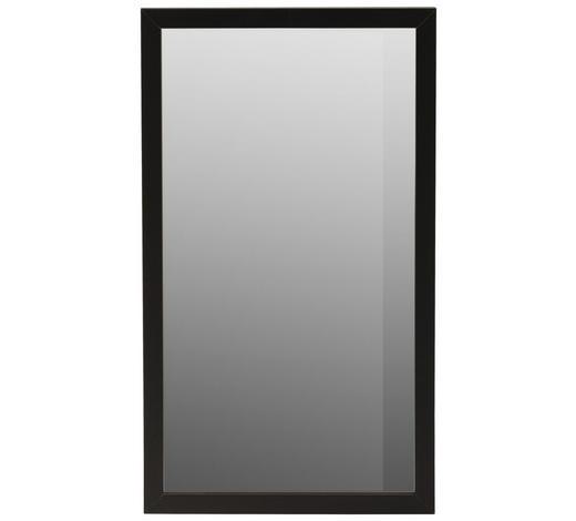 ZRCADLO, 27/47/1,9 cm,  - černá, Design, kompozitní dřevo/sklo (27/47/1,9cm) - Carryhome