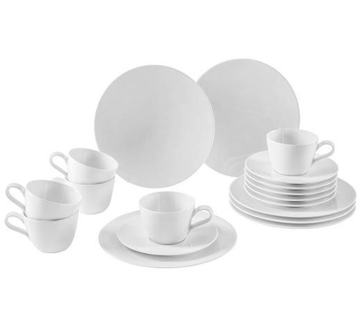 KAFFEESERVICE 18-teilig  - KONVENTIONELL, Keramik (43/24/18,1cm) - Seltmann Weiden