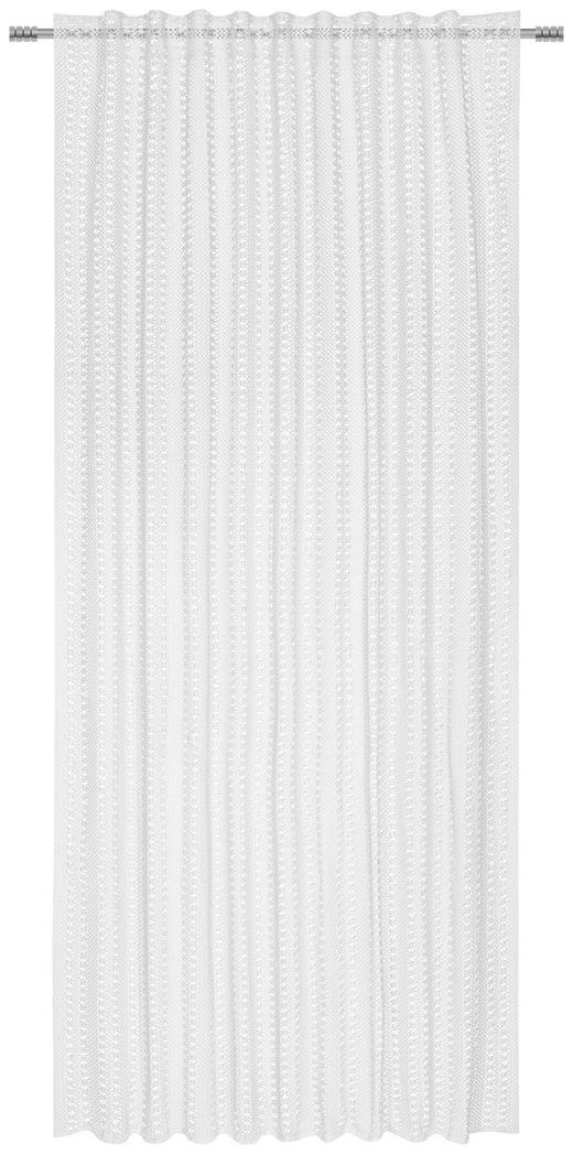 KOMBIVORHANG halbtransparent - Weiß, LIFESTYLE, Textil (140/245/cm) - Landscape