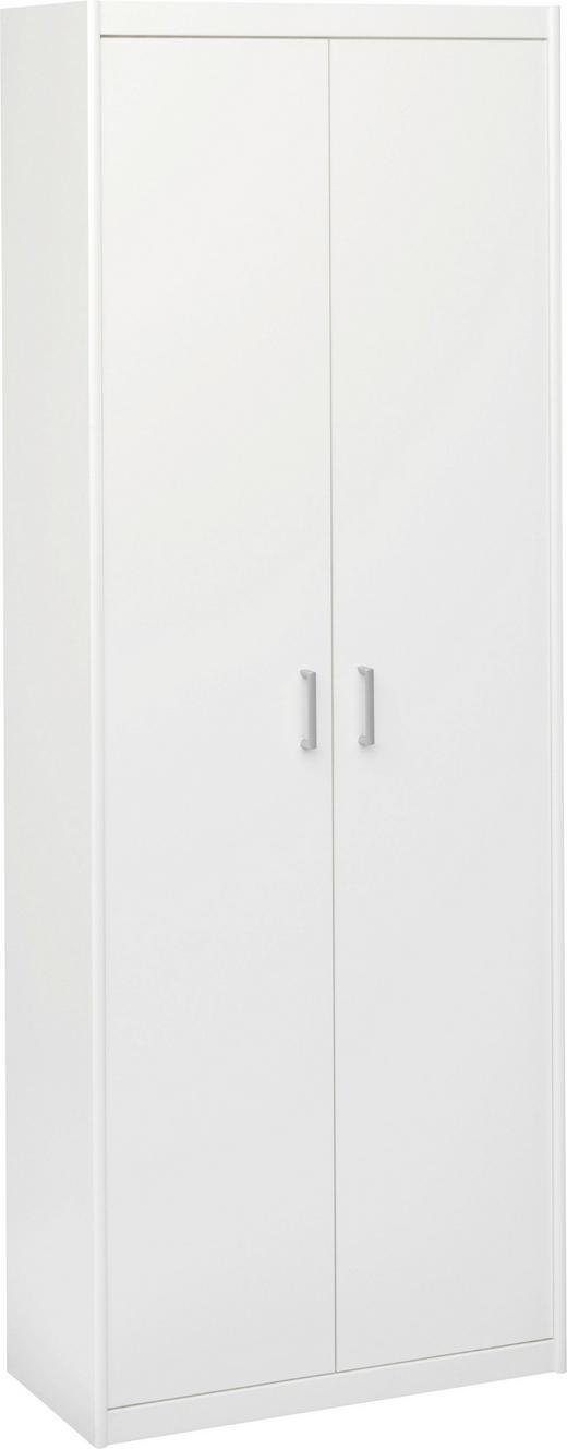 ORMAR VIŠENAMJENSKI - bijela/boje srebra, Konvencionalno, drvni materijal/plastika (72/194/36cm) - CS SCHMAL