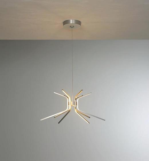 LED-HÄNGELEUCHTE - Design, Metall (66/140cm) - Escale