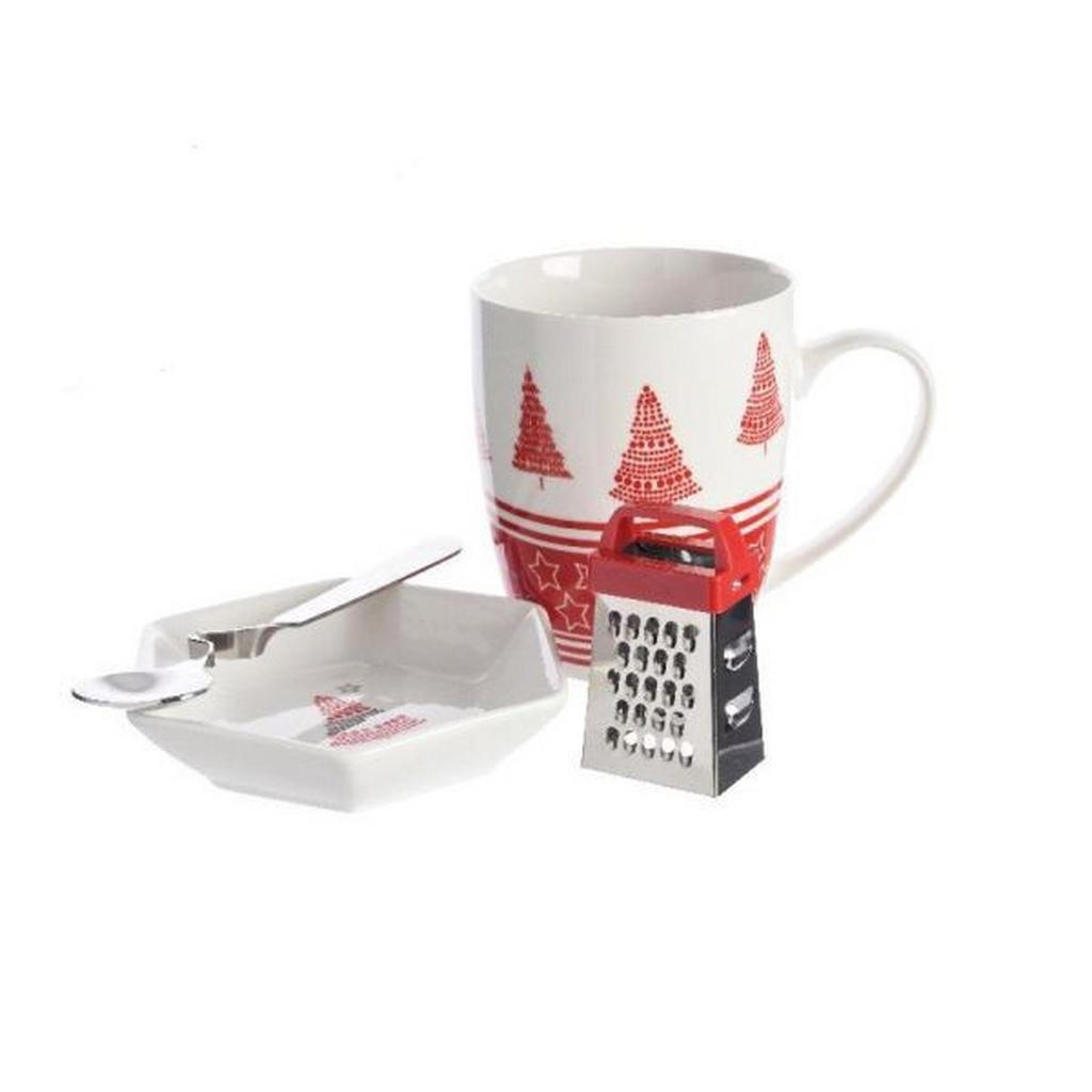 Tassenset für heiße Trinkschokolade