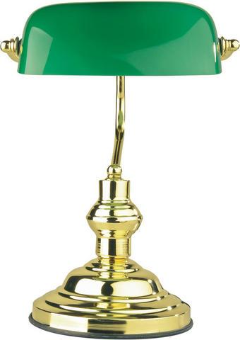 NAMIZNA SVETILKA - zelena, Trendi, kovina/steklo (25/36cm)