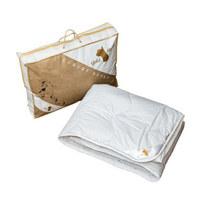 CELOLETNA PREŠITA ODEJA ALPACA - bela, Konvencionalno, tekstil (140/200cm)