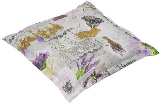 GARTENSITZKISSEN Floral - Multicolor, Design, Textil (50/9/50cm)