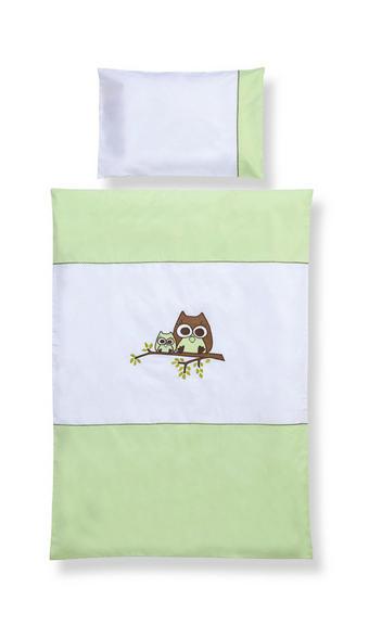 KOJENECKÉ POVLEČENÍ - zelená, Basics, textil (100/135cm) - MY BABY LOU