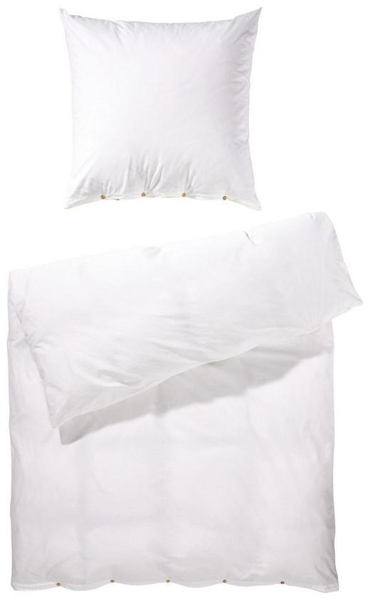 BETTWÄSCHE Renforcé Weiß 135/200 cm - Weiß, KONVENTIONELL, Textil (135/200cm) - Bio:Vio