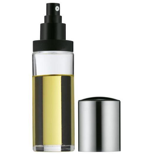 ÖLFLASCHE - Klar/Edelstahlfarben, Basics, Glas/Kunststoff - WMF