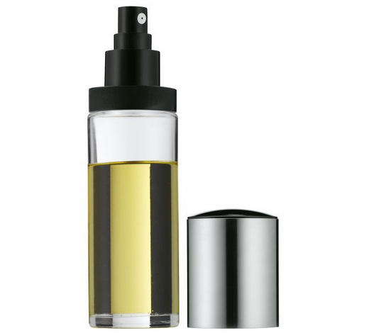Ölsprüher - Klar/Edelstahlfarben, Design, Glas/Kunststoff - WMF