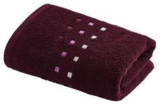 DUSCHTUCH 70/140 cm  - Pflaume, Basics, Textil (70/140cm) - Esposa