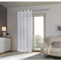 ÖSENVORHANG halbtransparent  - Weiß, Trend, Textil (135/245cm) - Esposa