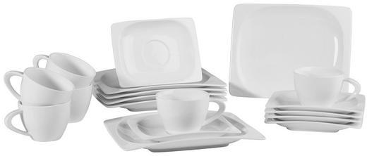 Porzellan  KAFFEESERVICE 18-teilig - Weiß, Basics (26/24/26cm) - RITZENHOFF BREKER