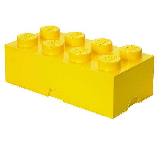 AUFBEWAHRUNGSBOX 50/25/18 cm  - Gelb, Trend, Kunststoff (50/25/18cm) - Lego