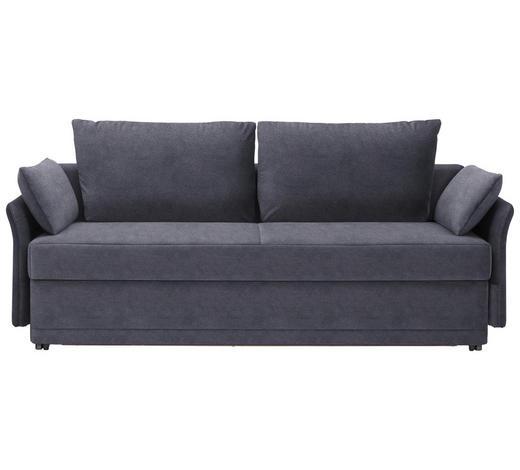 SCHLAFSOFA in Textil Grau  - Grau, MODERN, Textil (220/98/96cm) - Joka