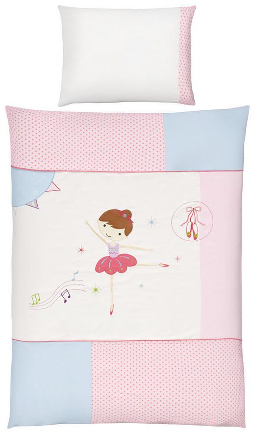BABYBETTWÄSCHE 100/135/ cm - Rosa, Basics, Textil (100/135/cm) - Patinio