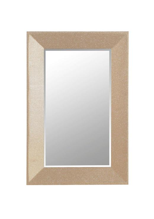 SPIEGEL Goldfarben - Goldfarben, Design, Glas/Holzwerkstoff (80/120/5cm) - Landscape