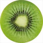 Sitzkissen Fruits - Gelb/Braun, MODERN, Textil (38cm) - Luca Bessoni
