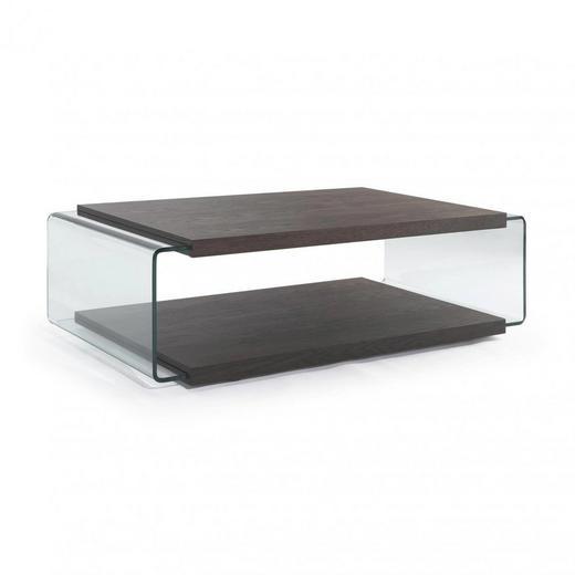 KONFERENČNÍ STOLEK - Design, dřevo/sklo (130/68/38cm) - Natuzzi