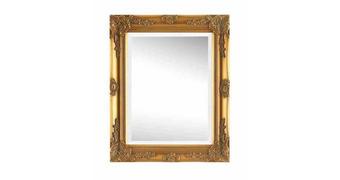 ZRCADLO, 40/50/3,3 cm,  - barvy zlata, Lifestyle, dřevo (40/50/3,3cm) - Landscape