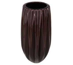 VAS - mörkröd, Trend, keramik (9,5/20,5cm) - Ambia Home