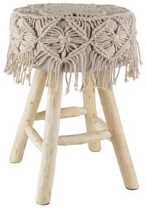 PALL - furufärgad/creme, Lifestyle, trä/textil (33/46cm) - Ambia Home