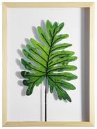 Blätter KUNSTDRUCK - Naturfarben/Grün, Basics, Holz/Kunststoff (30/40cm)