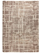 WEBTEPPICH - Beige, Design, Textil (130/190cm) - Novel