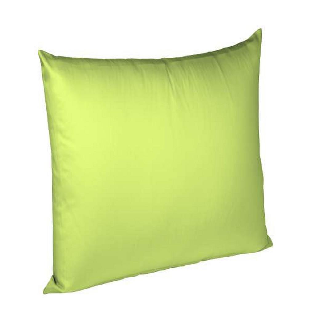 FLEURESSE KISSENHÜLLE Grün 40/40 cm