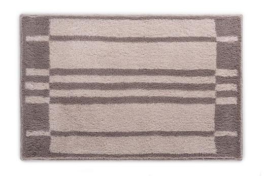 BADTEPPICH  Beige, Graphitfarben, Grau  60/90 cm - Beige/Graphitfarben, Basics, Kunststoff/Textil (60/90cm) - Joop!